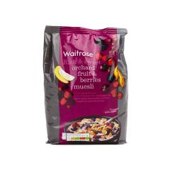【进口】Waitrose水果浆果营养麦片 1kg