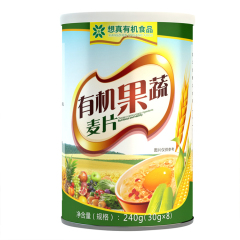 想真有机果蔬麦片30g*8