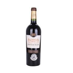 【参与积分兑换】匹克城堡 路易斯特酿干红葡萄酒 750ml