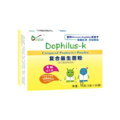 【仅限积分兑换】自然之礼  复合益生菌粉-K(一岁以上儿童)90g