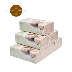 彩棉柔巾5连包组合装
