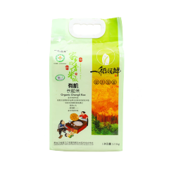【预售】一稻领鲜 大米 有机长粒米 2.5KG
