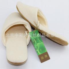 (中彩)可洗条纹拖鞋