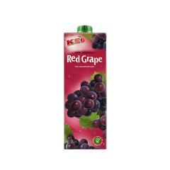 【预售】凯莉欧100%红葡萄汁1L