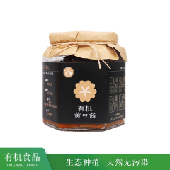 【临期】豆多园 有机黄豆酱 300G
