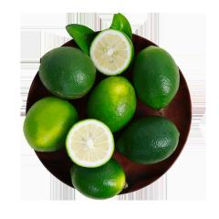海南新鲜青柠檬 2.5kg 单果约60-90g